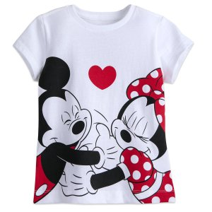 Mickey and Minnie Mouse T-Shirt for Girls