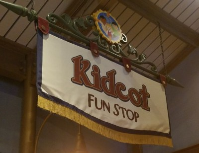 Kidcot Fun Stops (Disney World Activity)