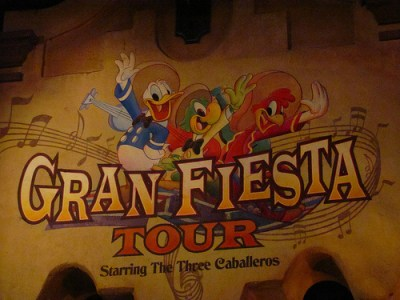Gran Fiesta Tour Starring The Three Caballeros (Disney World Ride)