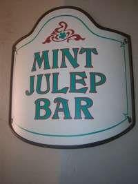 Mint Julep Bar (Disneyland)