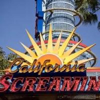 California Screamin – Extinct Disneyland Rides
