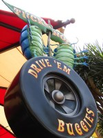 Tuck and Rolls Drive Em Buggies (Disneyland)