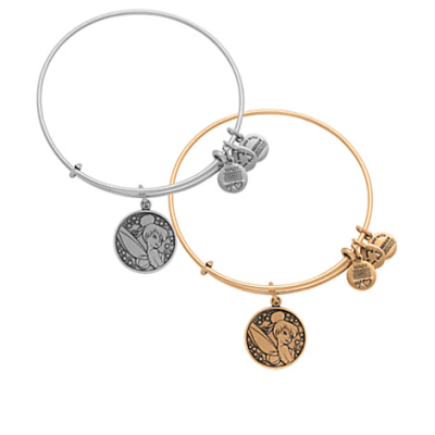 Tinker Bell Bangle by Alex and Ani | Disney Jewelry