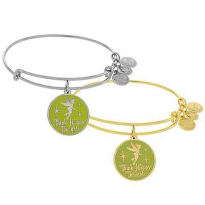 Tinker Bell Bangle by Alex and Ani (Green) | Disney Jewelry
