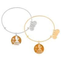 Belle Bangle by Alex and Ani (orange) | Disney Jewelry