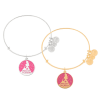 Aurora Bangle by Alex and Ani (pink) | Disney Jewelry