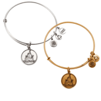 Cinderella Castle Bangle by Alex and Ani | Disney Jewelry