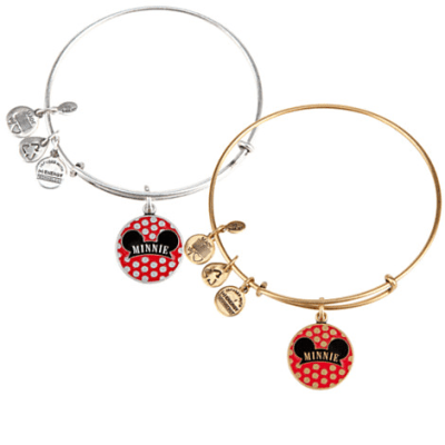 Minnie Mouse Bangle by Alex and Ani (pink) | Disney Jewelry