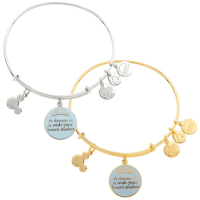 "Cinderella ""A Dream is a Wish . . ."" Bangle by Alex and Ani"