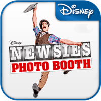Newsies Photo Booth App