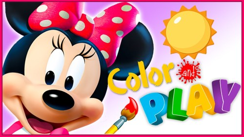 Mickey Minnie And Pluto Are Ready For Fun With Special Roadsters All Tricked Out Fantastic 3D Colour Play