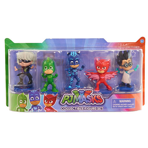 ... PJ Masks 5 Figure Set (Catboy, Owlette, Gekko, Luna Girl,