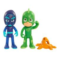 PJ Masks Duet Figure Set - Gekko and Night Ninja