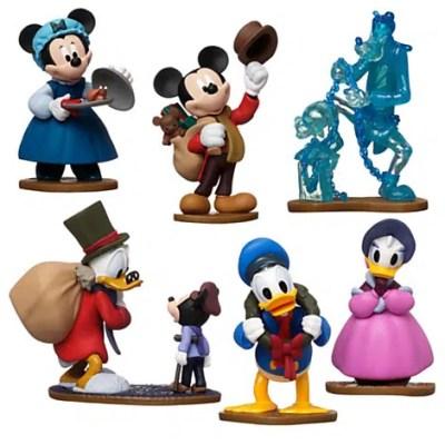 Mickey's Christmas Carol Toy Figure Play Set