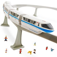 Walt Disney World Monorail Toy Play Set (with 8 minifigures)