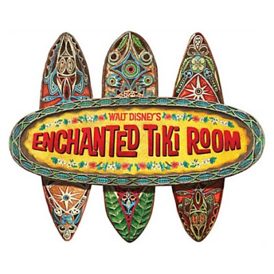 The Enchanted Tiki Room Wall Sign | Disney Home