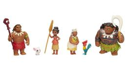 Disney Moana Toy Figures Set (6 Movie Characters)