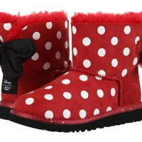 UGG Kids Minnie Mouse Sweetie Bow Red (Little Kid/Big Kid)
