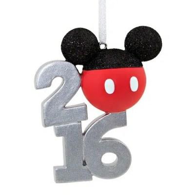 Disney's Mickey Mouse Ears Christmas Ornament 2016