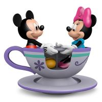 Disney's Mickey & Minnie Teacup For Two Christmas Ornament 2016