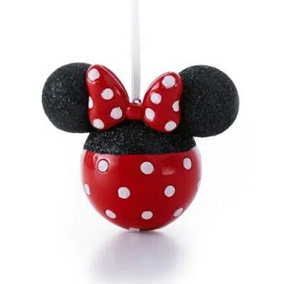 Disney's Minnie Mouse Glitter Ears Christmas Ornament