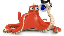Finding Dory Hank and Dory Christmas Ornament 2016