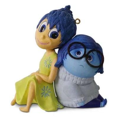 Disney Pixar Inside Out Christmas Ornament 2016