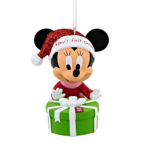 disneys minnie mouse babys first christmas ornament 2016