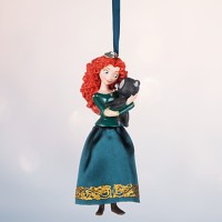 Brave's Merida Christmas Ornament