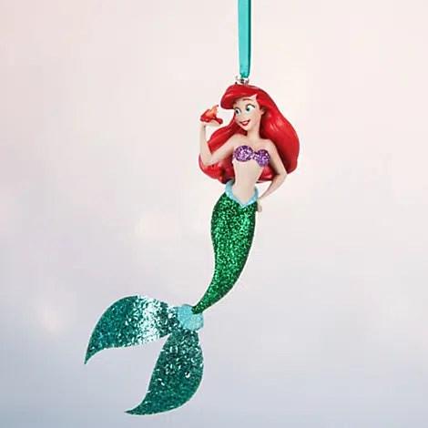 the little mermaid ariel christmas ornament - Little Mermaid Christmas Ornaments