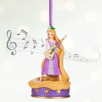Tangled Rapunzel Singing Christmas Ornament