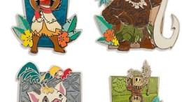 Moana Disney Pin Set