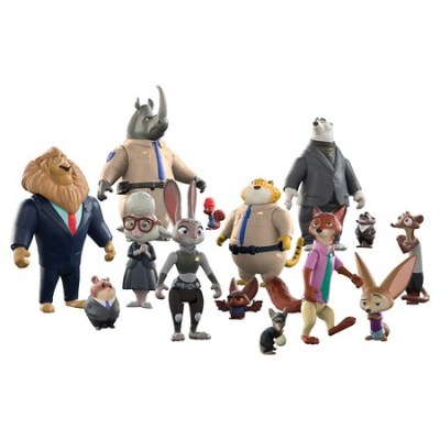 Zootopia Action Figure Set (14-piece set) | Disney Toys