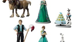 Frozen Fever Action Figure Playset (6-pc)