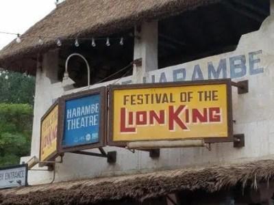 Festival of the Lion King (Disney World Show)