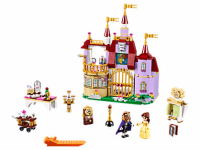 Disney Beauty and the Beast Belle's Enchanted Castle LEGO Set
