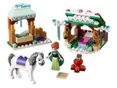 Disney Frozen Anna's Snow Adventure LEGO Set
