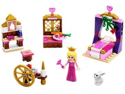 Disney Sleeping Beauty's Royal Bedroom LEGO Set