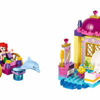 Disney The Little Mermaid Ariel's Dolphin Carriage LEGO Set