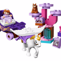 Disney Sofia the First Magical Carriage LEGO Set