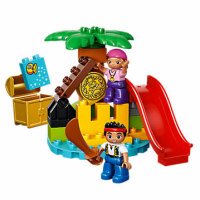 Disney Jake and the Never Land Pirates Treasure Island LEGO Set
