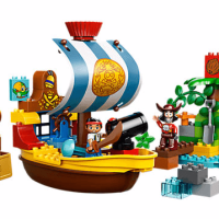 Disney Jake's Pirate Ship Bucky LEGO Set
