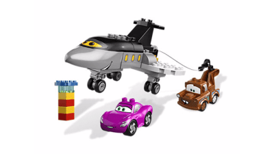 Disney Cars 2 Siddeley Saves the Day LEGO Set