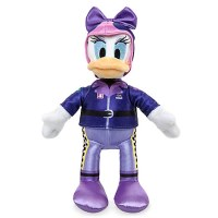 Daisy Duck Plush Stuffed Animal - Mickey and the Roadster Racers