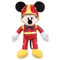 Mickey Mouse Plush Stuffed Animal – Mickey and the Roadster Racers