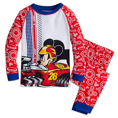 Mickey Mouse Racer PJs (Boys) – Mickey and the Roadster Racers