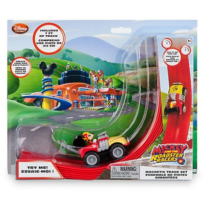 Mickey and the Roadster Racers Magnetic Track Set Toy
