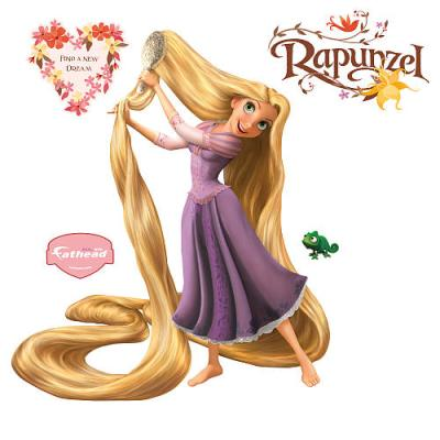 Rapunzel Wall Decal (Tangled)