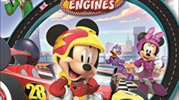 """Mickey and the Roadster Racers Start Your Engines DVD"" is locked Mickey and the Roadster Racers Start Your Engines DVD"