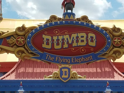 Dumbo the Flying Elephant (Disney World Ride)